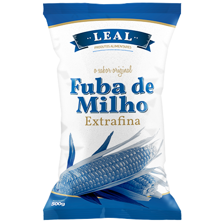 FUBA DE MILHO BRANCA EXTRAFINA